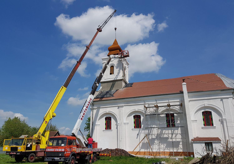 nou turn la biserica