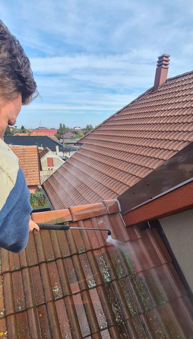 Curățați acoperișul în deplină siguranță