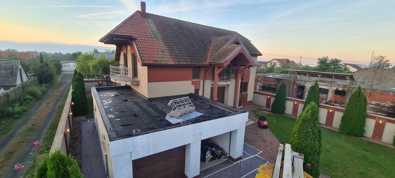 curățarea acoperișului